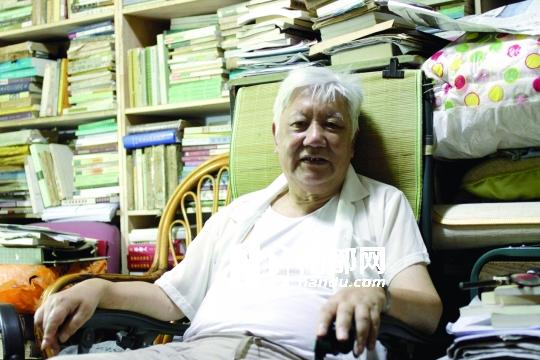 """""""文革""""时上海市委写作组负责人朱永嘉。他曾在提篮桥监狱服刑6年。"""