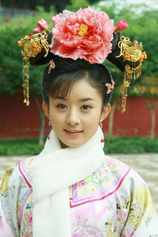 赵丽颖当然还演过大家所熟知的《新还珠格格》的晴儿,陆贞,《错点电视剧汉宫飞燕佟丽娅图片