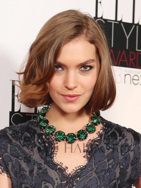 女明星发型图片 女明星发型 女明星 中长发烫发发型图片图片