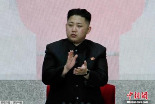 资料图:朝鲜最高领导人金正恩