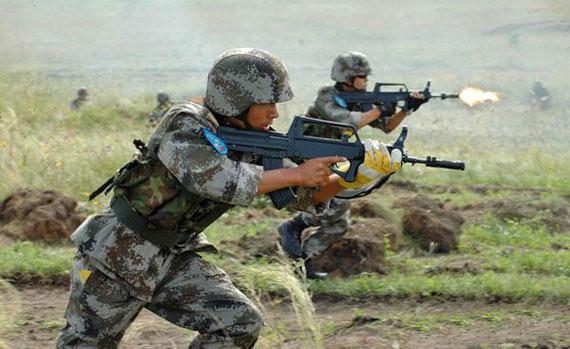 中国人民解放军特种部队战力装备训练全面评估