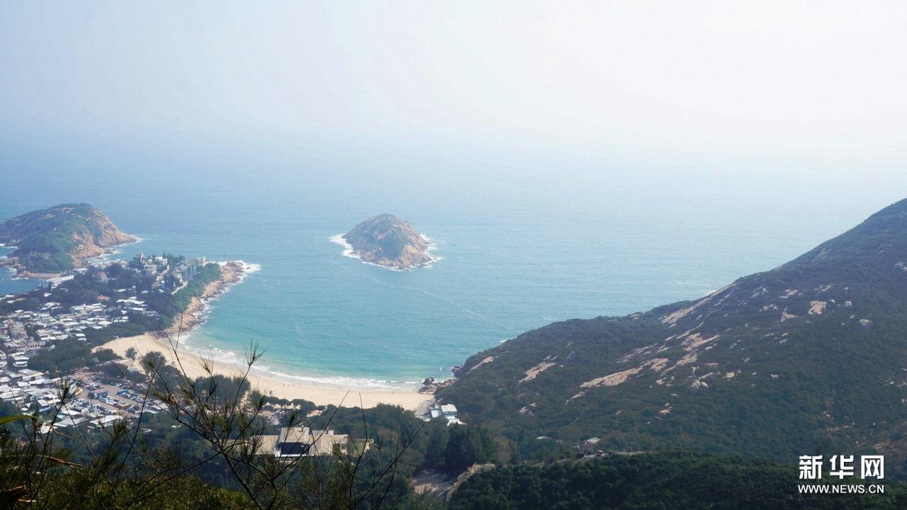 景色 远足/龙脊,属于港岛径第八段(土地湾到大浪湾)的一段,风光绮丽,...