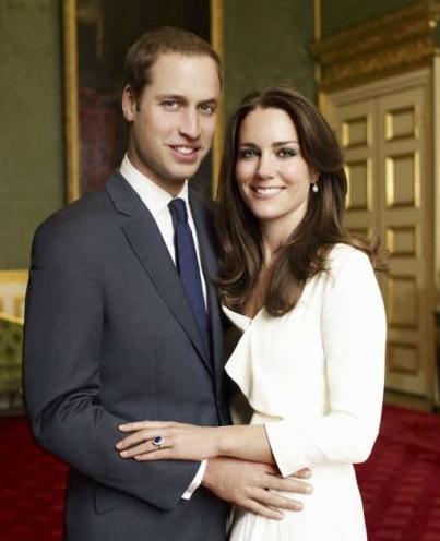 威廉王子与凯特王妃夫妇(资料图)