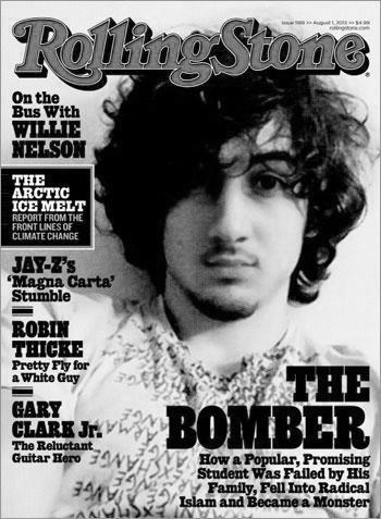 《滚石》让恐怖嫌犯上封面 遭各界口诛笔伐
