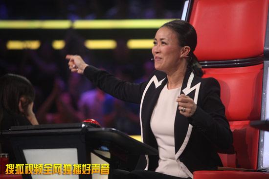 《中国好声音》第二季导师那英
