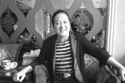 7月17,王林在家中接受采访
