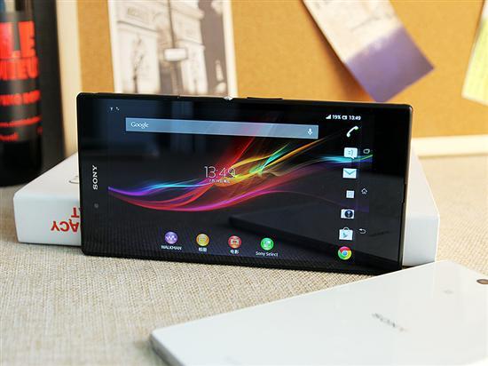 6.4英寸屏堪比平板 索尼XL39h手机图赏