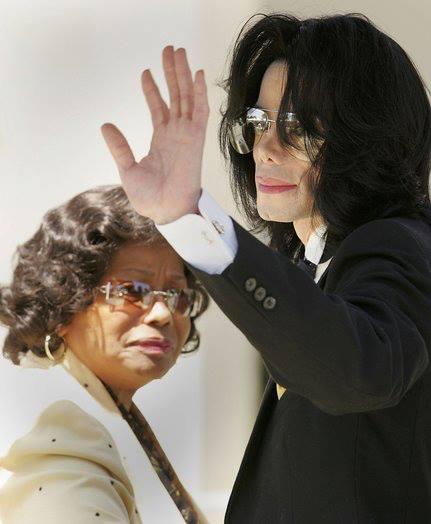 杰克逊与母亲