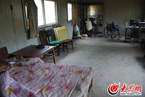 冀中星居住的房间
