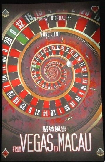 《赌城风云》概念海报