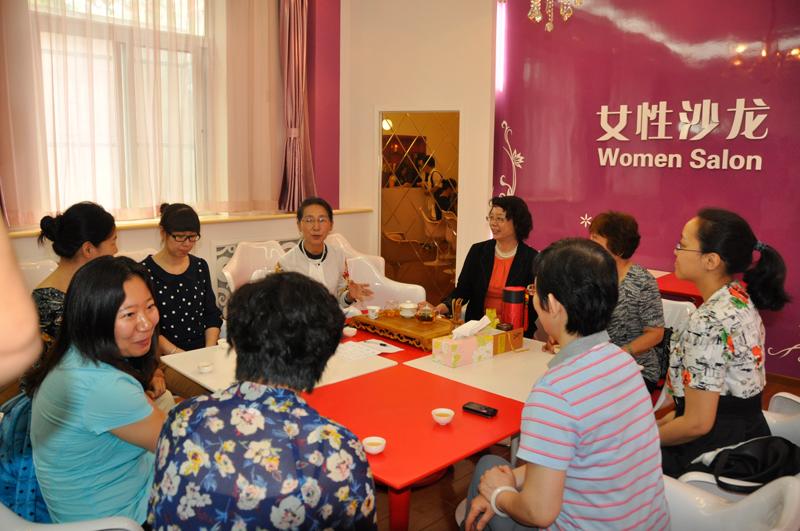 高清组图:北京市妇女儿童社会服务中心营造幸