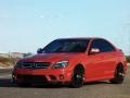 [海外新车] 红色战神 Mercedes C63 AMG