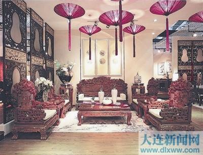 仿古家具,明清家具,欧式家具,   藤制家具,红木艺品,古典家饰,木雕