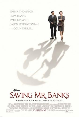 《拯救班克斯先生》创意海报图片