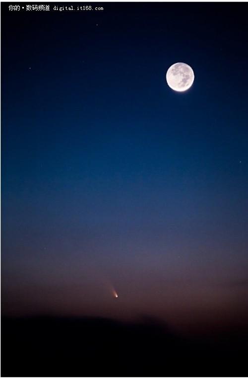 夜空中的繁星梦 用L镜头记录下曾经梦想