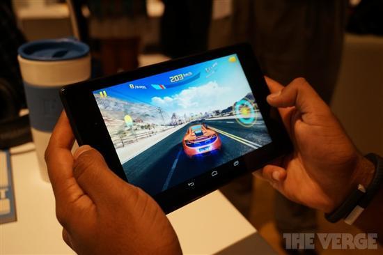 谷歌Nexus 7二代试玩 四核超高清屏幕
