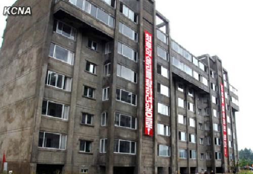 朝鲜总理朴奉珠要求建设世界一流住宅。