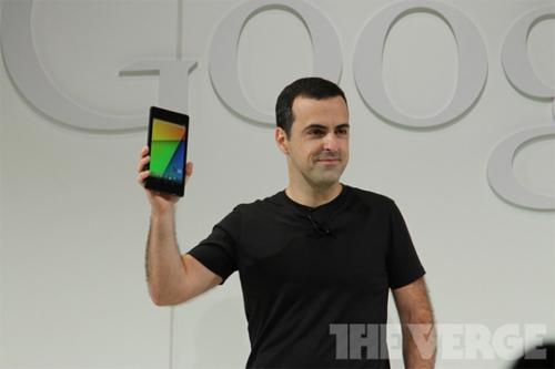 谷歌发布新Nexus 7:最低229美元起售