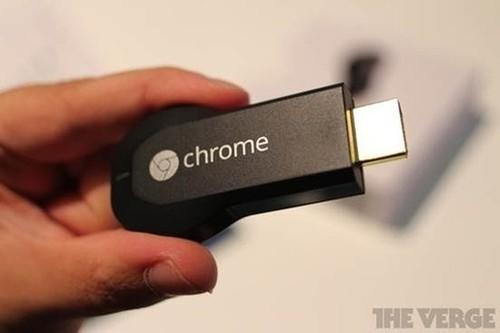 推送视频 谷歌Chromecast电视棒发布