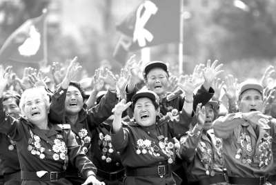 朝鲜战争老兵。图/东方IC