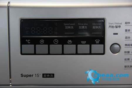 博世WAE20268TI洗衣机操控面板