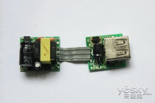 山寨充电器做工粗糙,元件缩水严重