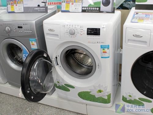 惠而浦洗衣机特写