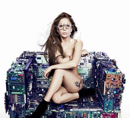 Lady Gaga将发新专辑曝全裸造型照
