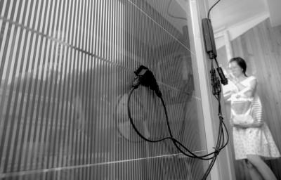落地窗的玻璃改成太阳能电池板