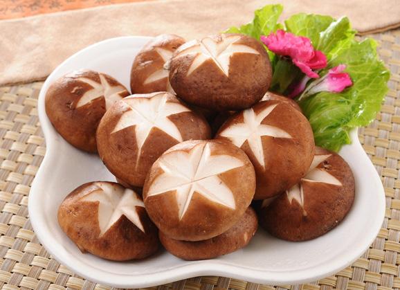 干_干香菇炖肉,鲜香菇炒菜.
