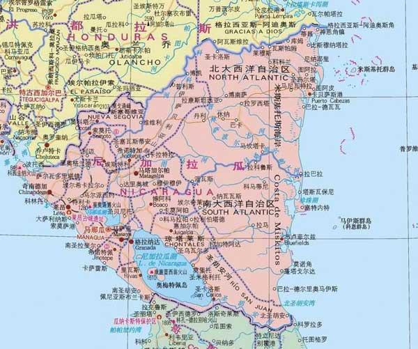 英媒:中国企业家王靖公布尼加拉瓜运河路线图
