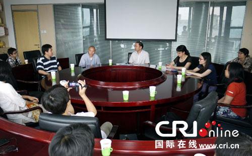 龙泉寺参访团一行12人与国际台东南亚中心进行交流