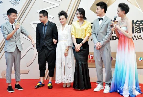 俞露受邀亮相亚洲偶像盛典