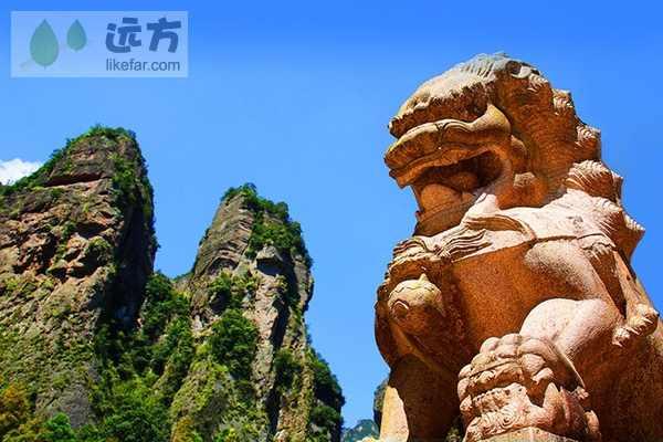 古刹名山,从来在中国就是相辅相成的   作者:会飞的小鱼