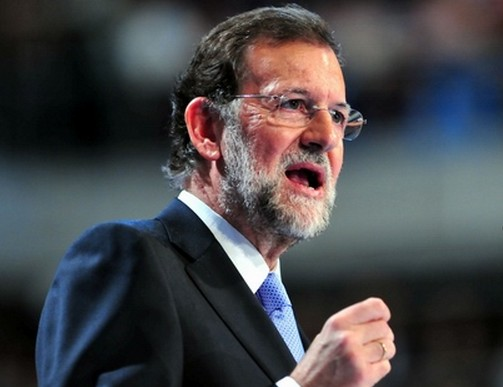 西班牙总理拉霍伊资料图