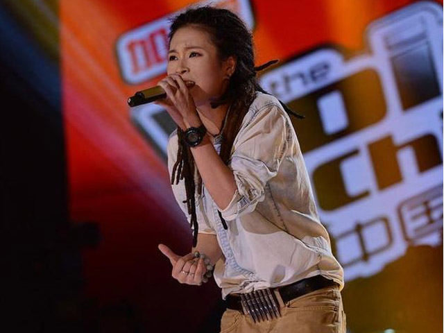 中国好声音第二季学员金曲 第四期 毕夏 像梦一样自由 搜高清图片