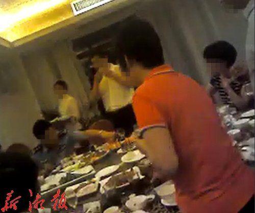龙胜县领导吃喝现场