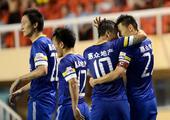 中超图:阿尔滨3-0卓尔 于大宝庆祝进球