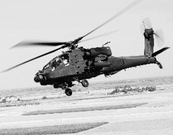 美军阿帕奇直升机