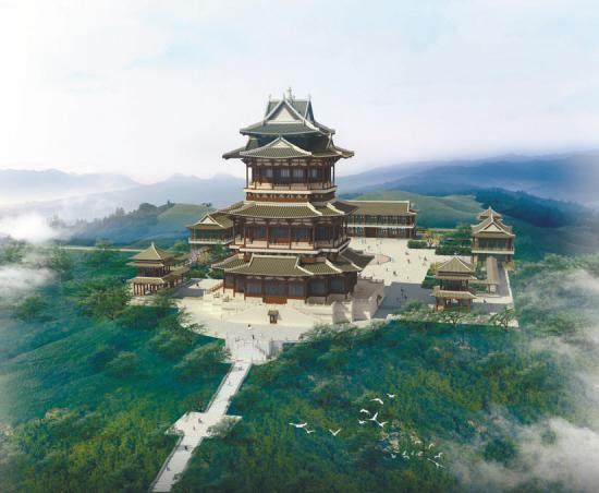 法库辽文化博物馆年末迎游人