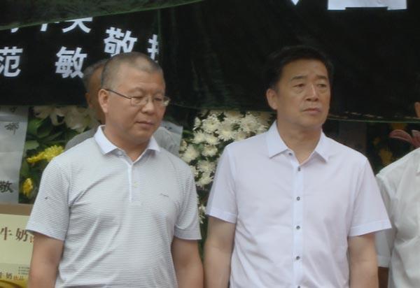 民族文化宫陈烨处长、乔氏乔元栩先生沉痛悼念李永兴同志逝世