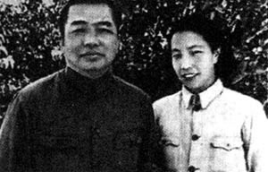 彭德怀与浦安修(资料图)