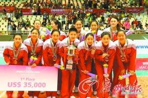 中国女排技高一筹,夺冠毫无悬念。