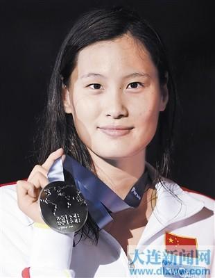 50米蝶泳摘银破纪录 陆滢:取得这个成绩很意外