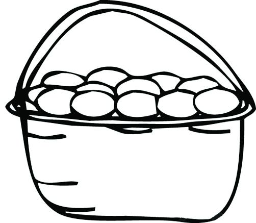 蔬菜黑白手绘图