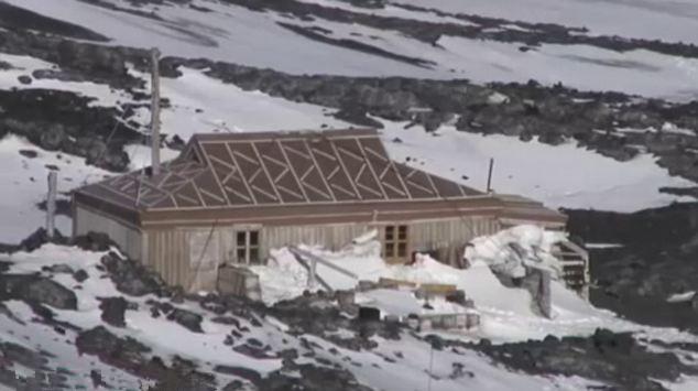 南极洲七大被弃定居点成 鬼城 自然地理