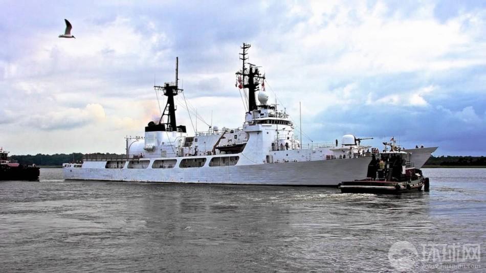 菲购美二手巡逻舰抵达菲律宾(组图)