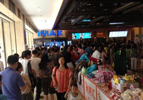 《环太平洋》带动IMAX厅异常火爆