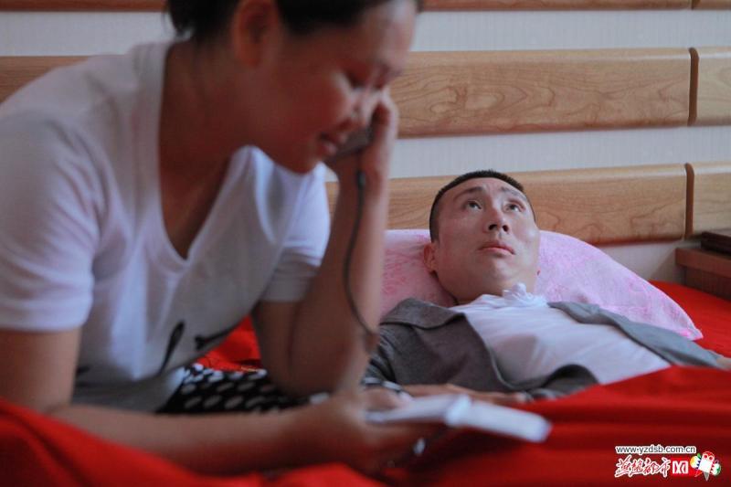 唐山高位截瘫男和马来西亚女孩美丽爱情收获众人祝福