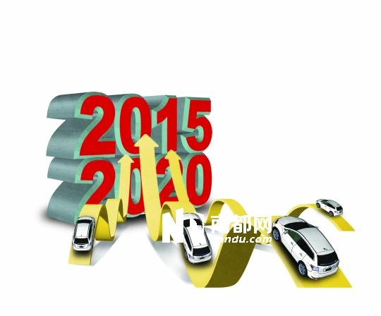 2022年汽车保有量将破3亿辆 图